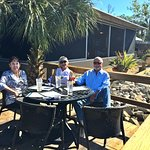 Local patrons of Lulu's Waterfront Grille enjoying our Sunday brunch.