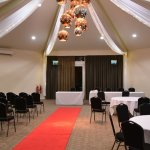 Weddings take place here - the Canberra Suite.