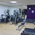 The gym, free to use for hotel guests