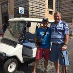 Rudy & Tom in Piazza del Popolo
