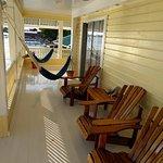 the sunset deck