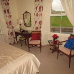 Bedroom with view of Currane River
