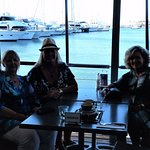 Yacht Club Lunch with Great Friends