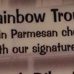 Rainbow Trout description.