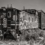 Old Train, Train Station - Lamy, NM - Turquoise Trail