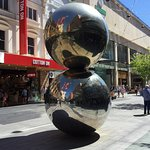 Big shiny balls.