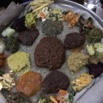 Yod Abyssinia Traditional Food Foto