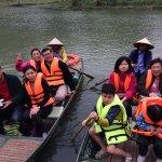 """On Boat in Trang An, Ninh Binh"""