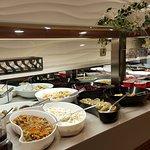 Food served ...