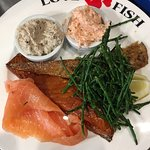 Smoked fish platter for two - at £25.00