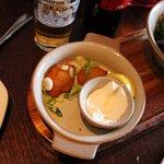 yummy cod croquettes and garlic dip