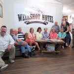 Wade from Outback Aussie Tours and the grateful group!