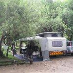 deliniated campsite