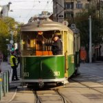 They had this old trams up and running on Sunday.