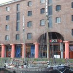 Tate Liverpool across Albert Dock