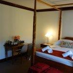 Room has garden view