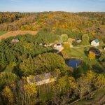 Aerial View of Hawk Valley Retreat