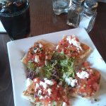 Greek Salad Bruscetta