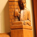 Another wood carving