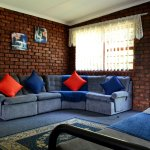 Lounge area in Self catering unit