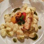Gnocchi mit Gemüse und Ziegenkäse