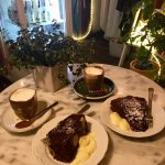 Bananabread and Chocolatecake with Nutellinos