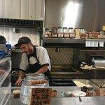 Cooks hard at work