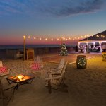 Wedding and Banquets Held on the Beach