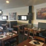 première salle de restaurant