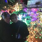 My daughter and I at the Christmas Light Event.