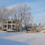 Manor House & Luxury Cottages in Winter