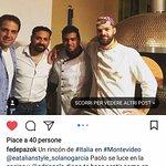 el nuestro equipo y chef Paolo.