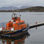 Oban RNLI Lifeboat and views across the bay.