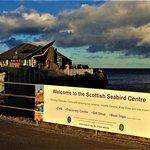 Approach path to Scottish Seabird Centre