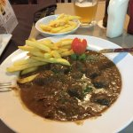 Belgian Beef Stew with french fries