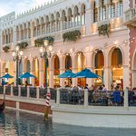 The only restaurant located along the Grand Canal in The Venetian® and The Palazzo®