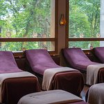 Relaxation lounge in Spa
