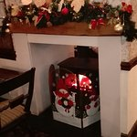 Christmas arrives at the Shepherd & Shepherdess , our excellent local . Can't for our Christmas