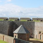 Fort George buidlings Fort George opened 1769 near Ardersier, to the north-eas