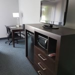 Media Unit and Desk in Guestrooms