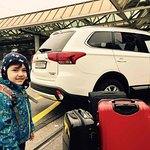 The First Airport Transfer with Mitsubishi Outlander Leopard