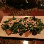 Arugula and beet salad