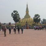 Largest Buddhist Temple Pagoda in Vientiane