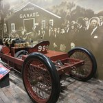 """Henry Ford's 1902 model """"999"""" in the Heritage of Daytona display"""