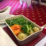 Tasty vegetables for Sunday lunch