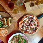 Ciders, Pie, Pizza & Salad