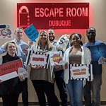 Some successful escape room experience players!