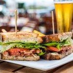 BLTA Apple-Wood Smoked Bacon, Avocado, Boston Lettuce, Tomatoes, Fine Herbs Aioli, Toasted Sourd