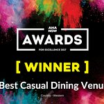2016 & 2017 Winner of Best Casual Dining Venue