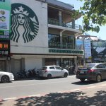 A Little Americana in Chiang Mai at Tha Phae gate area; Starbucks and McDonalds